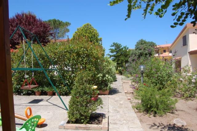 Vialetto nel giardino