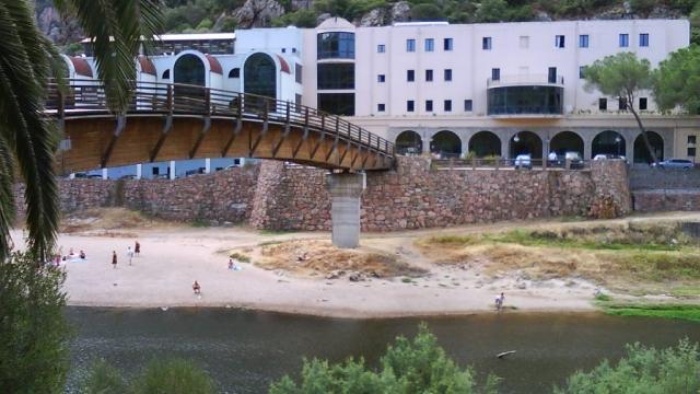Casteldoria spa, near Coghinas river