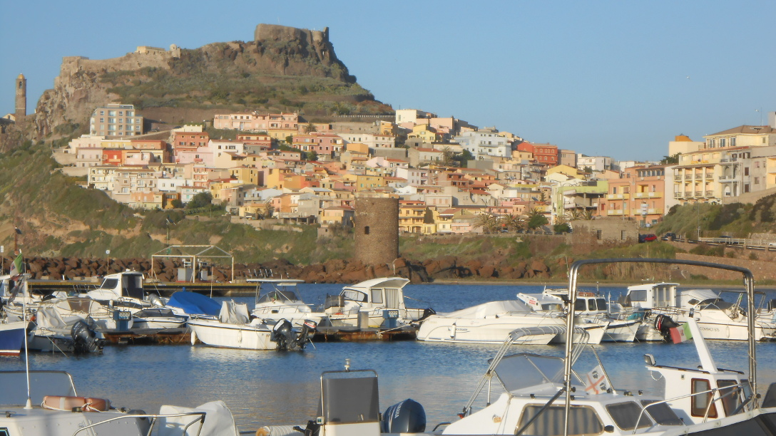 Castelsardo from the marina area