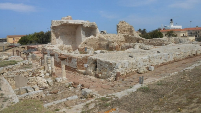 Roman ruins at Porto Torres