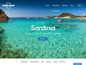 Lonely Planet sardinian guide