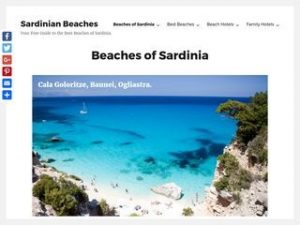 About sardinian beaches