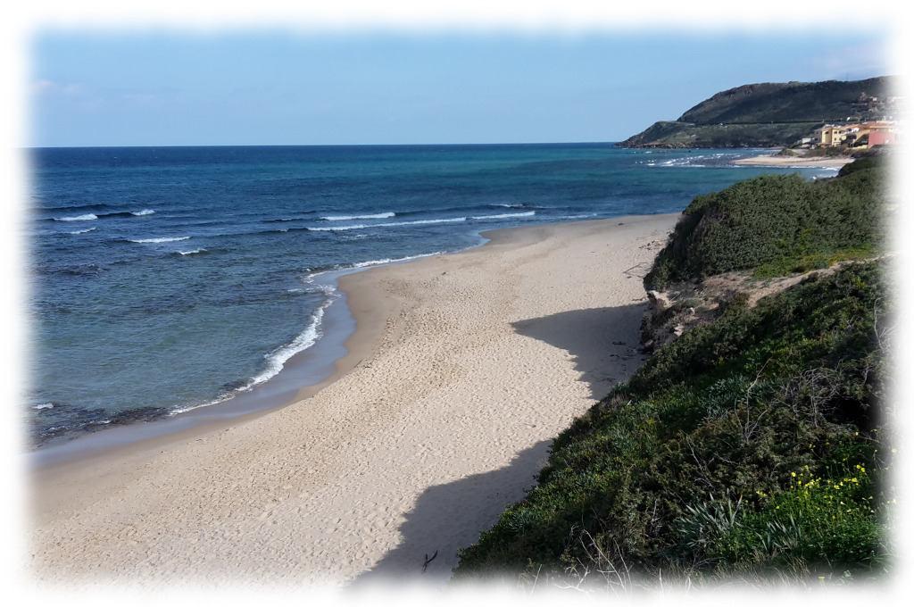 Beach of Lu Bagnu