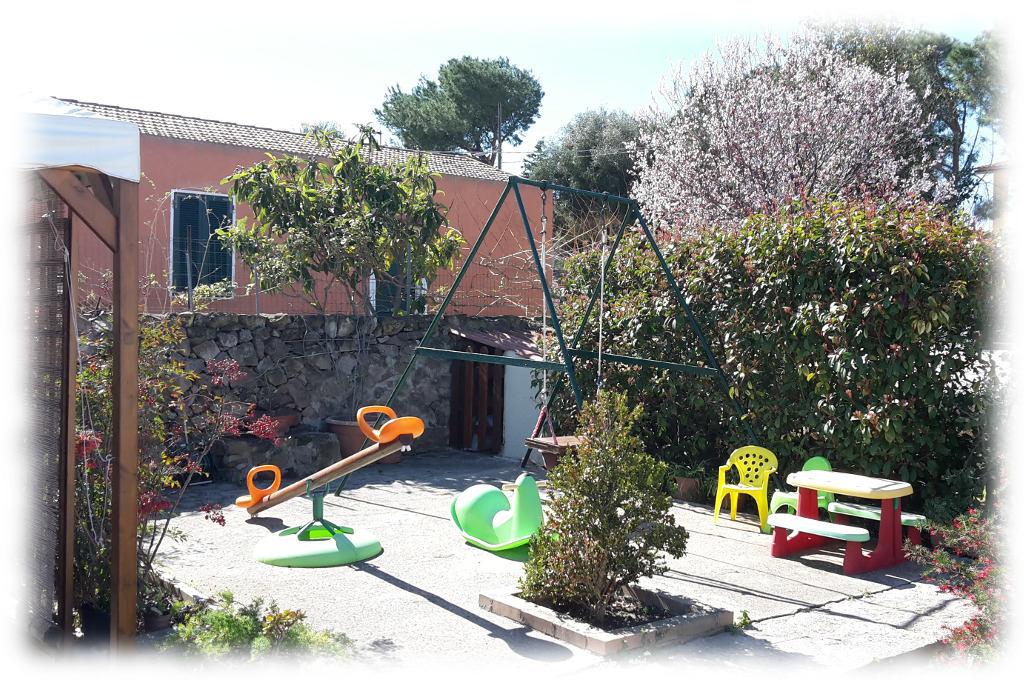 Garden and playground