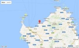 La mappa della Sardegna